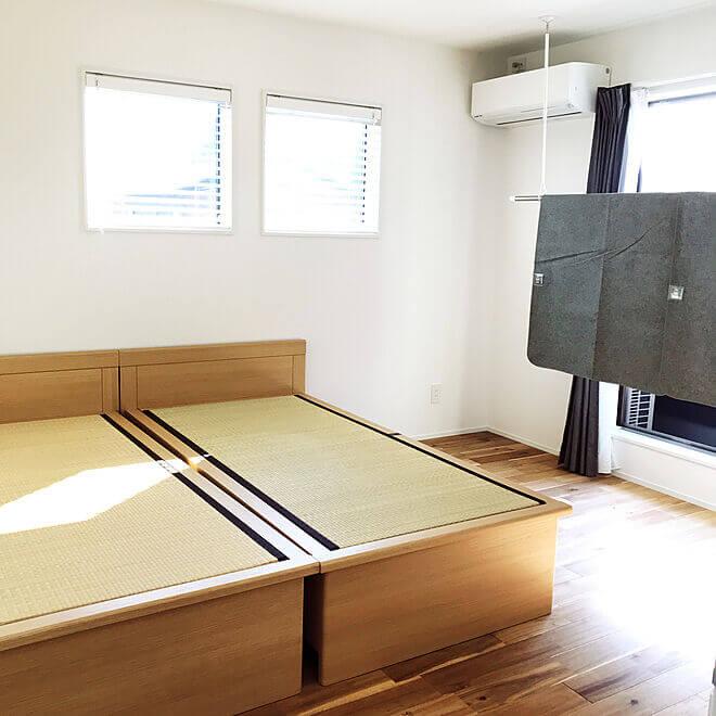 インテリア 和室 ベッド 畳にベッドは置ける?和室に合うベッドインテリア